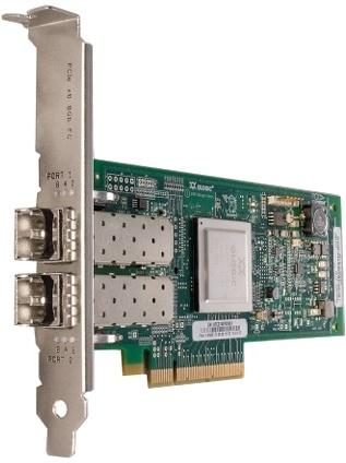 Адаптер Dell QLogic 2562 Dual Port 8Gb Fibre Channel HBA PCI-E X8 -Full Profile kit 406-BBEK контроллер dell nic qlogic 2662 dual port 16gb fibre channel hba low profile 406 bbbh