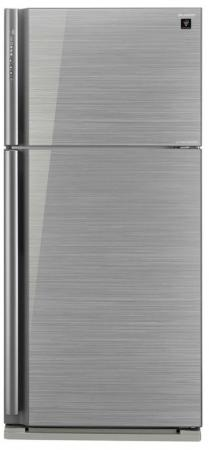 Холодильник Sharp SJXP59PGSL серебристый холодильник sharp sj gf60ar