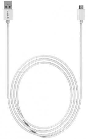 Кабель microUSB 1м Orico круглый ADC-10-WH кабели orico кабель microusb orico bdc 10