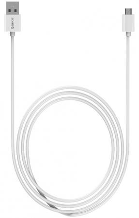 Кабель USB 2.0 AM-microUSB2.0 1м Orico ADC-10 белый кабель usb 2 0 am microbm 0 5м orico adc 05 белый