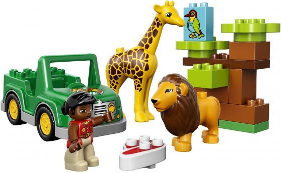 Конструктор Lego Duplo Вокруг света: Африка 18 элементов 10802 конструктор lego duplo лошадки 20 элементов 10806