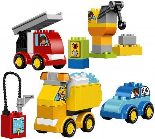 Конструктор LEGO Duplo Мои первые машинки 36 элементов 10816 lego lego duplo 10572 механик