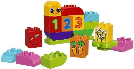Конструктор LEGO Duplo Моя веселая г��сеница 19 элементов 10831 конструктор lego duplo лошадки 20 элементов 10806