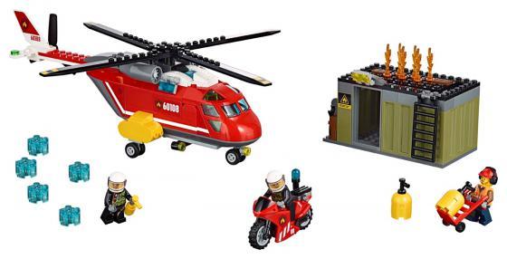Конструктор LEGO City Пожарная команда быстрого реагирования 257 элементов 60108 конструктор lego city 60148 гоночная команда