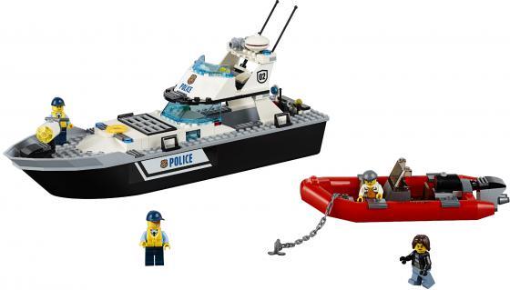 Конструктор LEGO City Полицейский патрульный катер 200 элементов 60129