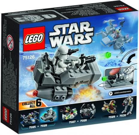 Конструктор LEGO Star Wars Снежный спидер Первого Ордена 91 элемент 75126 lego lego star wars призрак