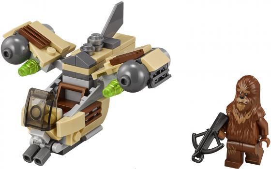 Конструктор LEGO Star Wars Боевой корабль Вуки 84 элемента 75129