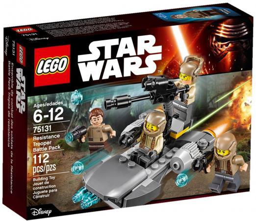 Конструктор Lego Star Wars Боевой набор Сопротивления 112 элементов 75131  lego star wars 75131 боевой набор сопротивления