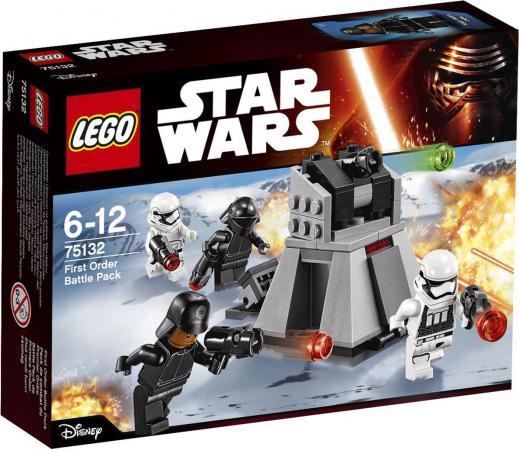 Конструктор LEGO Star Wars Боевой набор Первого Ордена 88 элементов 75132 конструктор lego star wars боевой набор галактической империи 109 элементов 75134