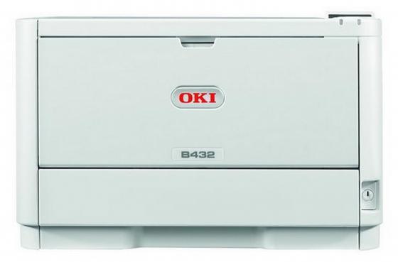 Принтер OKI B432DN монохромный ч/б A4 40ppm 1200x1200dpi 512Мб Ethernet USB 45762012 принтер xerox phaser 3330dni ч б a4 40ppm ethernet usb