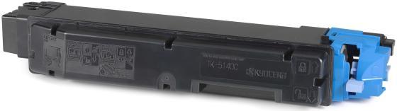 Картридж Kyocera Mita TK-5140C для Kyocera ECOSYS P6130cdn ECOSYS M6030cdn ECOSYS M6530cdn 5000 Голубой TK-5140C 1T02NRCNL0