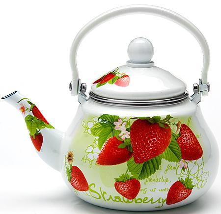 Чайник заварочный Mayer&Boch 23981-МВ 1.5 л металл белый рисунок заварочный чайник 1 5 л mayer and boch клубника mb 23981