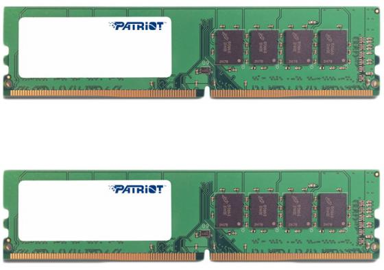 Оперативная память 16Gb (2x8Gb) PC4-17000 2133MHz DDR4 DIMM Patriot PSD416G2133K цена и фото