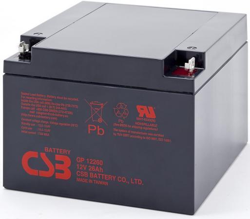 Батарея CSB GP12260 12V 26Ah цена и фото