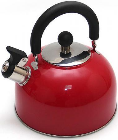 Чайник Катунь KT 105 K 2.5 л нержавеющая сталь красный чайник kitchenaid kten20sbob чёрный 1 9 л нержавеющая сталь