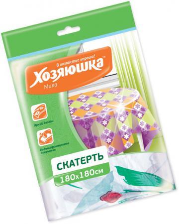 Скатерть Хозяюшка Мила 36051 пакеты для мусора хозяюшка мила с завязками 35 л 15 шт