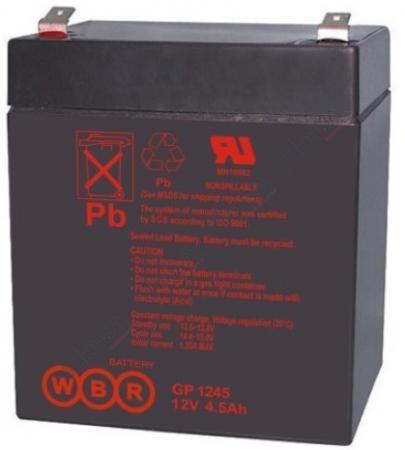 цена на Батарея WBR GP 1245 (16W) 12V/4AH