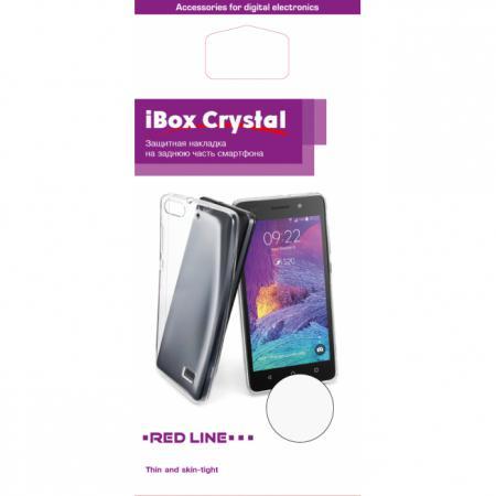 Накладка силикон iBox Crystal для Microsoft Lumia 950 XL (прозрачный)