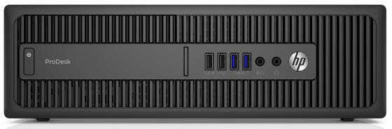 Системный блок HP ProDesk 600 G2 SFF i3-6100 3.7GHz 4Gb 500Gb HD4400 DVD-RW Win7Pro Win10 клавиатура мышь черный T4J52EA системный блок lenovo s200 mt j3710 4gb 500gb dvd rw dos клавиатура мышь черный 10hq001fru