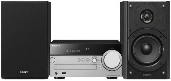 цена на Микросистема Sony CMT-SX7 черный/серебристый
