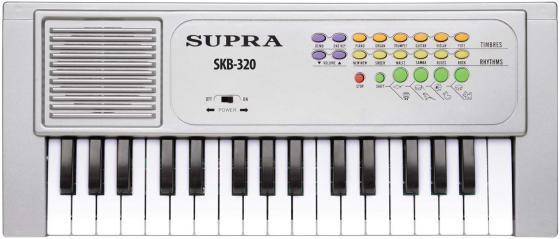Синтезатор Supra SKB-320 32 клавиши серебристый supra skb 614