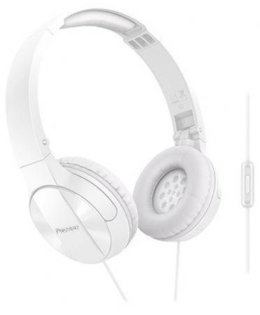 все цены на  Наушники Pioneer SE-MJ503T-W белый  онлайн