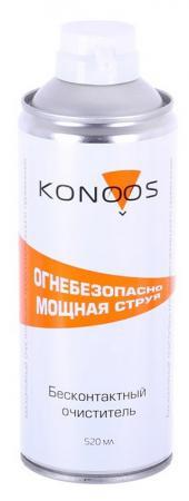 цена на Баллон с сжатым воздухом Konoos KAD-520F 520 мл