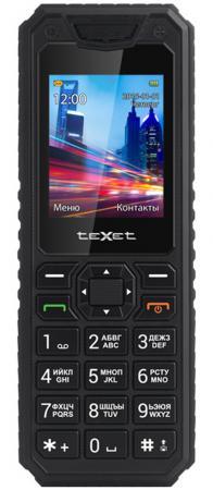 Мобильный телефон Texet TM-D302 черный 1.77 мобильный телефон рация защищенный texet tm 515r