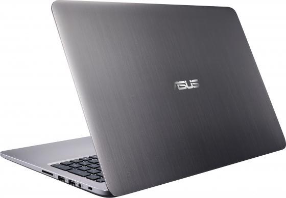 """Ноутбук ASUS K501UX 15.6"""" 1920x1080 Intel Core i5-6200U 1 Tb 6Gb nVidia GeForce GTX 950M 2048 Мб серый Windows 10 90NB0A62-M00400"""