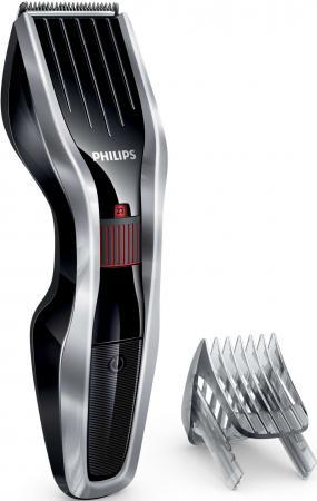 Машинка для стрижки волос Philips HC5440/15 серебристый чёрный машинка для стрижки волос philips hc5438 15 чёрный