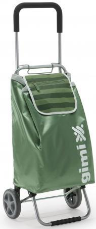 Сумка-тележка Универсальная Gimi Flexi полиэстер зеленый сумка тележка gimi easy синяя