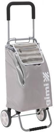 Сумка-тележка Универсальная Gimi Flexi полиэстер серый сумка тележка gimi easy синяя