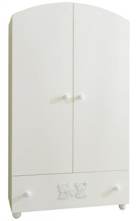 Шкаф двухстворчатый Pali Smart Maison Bebe (белый) колыбели pali плетеная люлька smart maison bebe