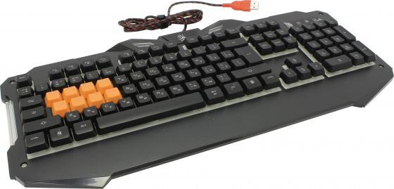 Клавиатура проводная A4TECH Bloody B328 USB черный клавиатура a4tech bloody b328 черный