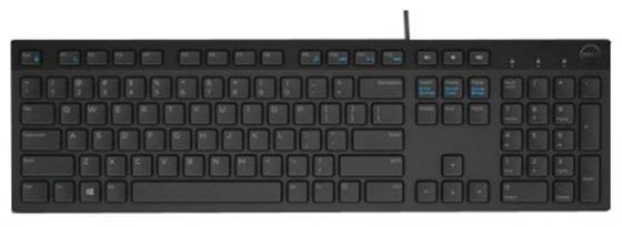 Клавиатура проводная DELL KB216 USB черный