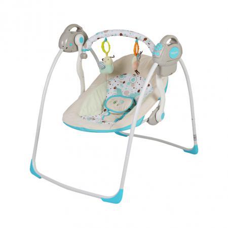 Электронные качели Baby Care Riva (шампанское) электронные качели рант rs102