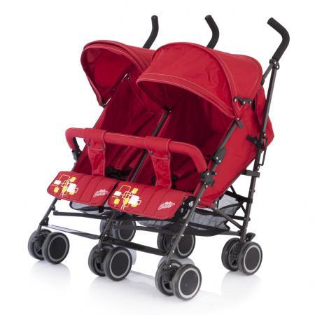 Коляска-трость для двойни Baby Care Citi Twin (red) baby care для двойни city twin blue bt1106t