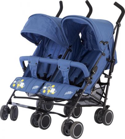 Коляска-трость для двойни Baby Care Citi Twin (blue) стоимость