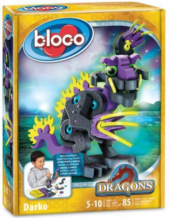 Конструктор Bloco Дракон Дарко 85 элементов 30511 bloco конструктор динозавры велоцераптор и птерозавр