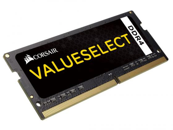Оперативная память для ноутбуков SO-DDR4 16Gb(2x8Gb) PC17000 2133MHz Corsair CL15 CMSO16GX4M2A2133C15 цена