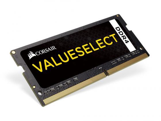 Оперативная память для ноутбука 8Gb (1x8Gb) PC4-17000 2133MHz DDR4 SO-DIMM CL15 Corsair CMSO8GX4M1A2133C15 оперативная память 8gb 2х4gb pc4 17000 2133mhz ddr4 dimm corsair cmk8gx4m2a2133c13