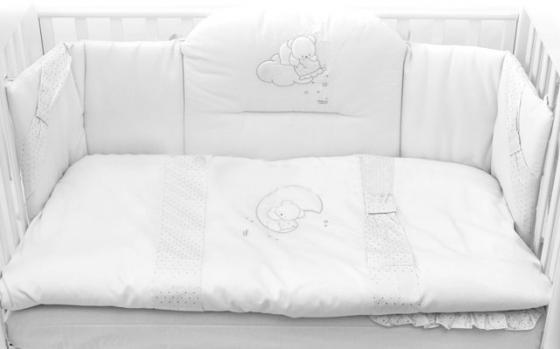 Постельный сет Italbaby Polvere Di Stell (белый/100.0005-5) постельный сет italbaby teddy крем 100 0019 6
