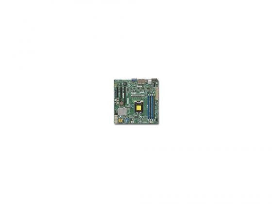 Материнская плата Supermicro MBD-X11SSH-LN4F-O Socket 1151 C236 4xDDR4 1xPCI-E 4x 2xPCI-E 8x 8xSATAIII mATX материнская плата supermicro mbd x11ssz f o socket 1151 c236 4xddr4 1xpci e 16x 2xpci e 4x 4xsataiii