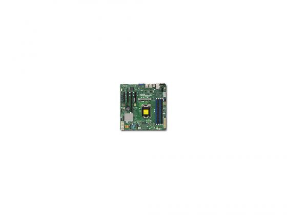 Материнская плата Supermicro MBD-X11SSM-F-O Socket 1151 C236 4xDDR4 2xPCI-E 4x 2xPCI-E 8x 8xSATAIII mATX материнская плата supermicro mbd x11sae f o soc 1151 ic236