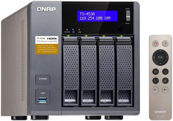 """все цены на Сетевое хранилище QNAP TS-453A-4G 4x3.5""""/2.5"""" HDD 4xGbLAN"""
