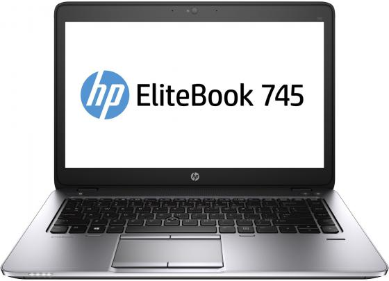 Ноутбук HP EliteBook 745 G3 14 1366x768 AMD A10 Pro-8700B 500 Gb 4Gb AMD Radeon R6 серебристый Windows 7 Professional + Windows 10 Professional T4H58EA