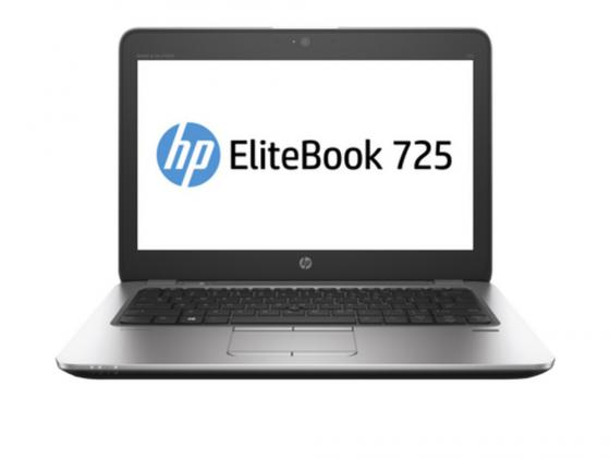 Ноутбук HP EliteBook 725 G3 12.5 1366x768 A8 Pro-8600B 500Gb 4Gb AMD Radeon R6 SMA серебристый Windows 7 Professional + Windows 10 Professional P4T47EA