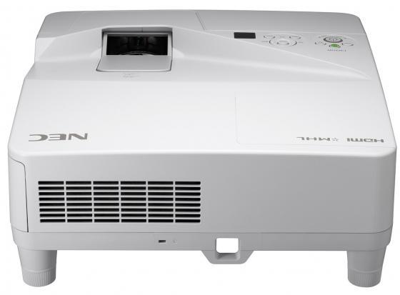 лучшая цена Проектор NEC UM351W LCD 1280x800 3500Lm 4000:1 VGA 2хHDMI USB Ethernet