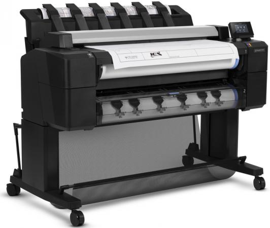 Плоттер HP Designjet T2530 L2Y26A 36 A0 500Gb 2400x1200dpi USB Ethernet hp 2530 8