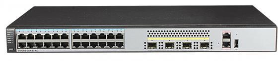 Коммутатор Huawei S5720S-28X-SI-AC 28 портов 10/100/1000Mbps 4хSFP коммутатор huawei s5720s 28x li ac